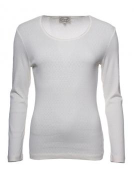 Langarm T-Shirt Malin von Sorgenfri Sylt in Ivory