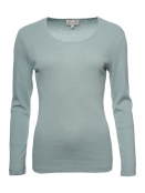Langarm T-Shirt Malin von Sorgenfri Sylt in Dusty green