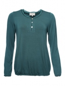 Shirt Clara von Sorgenfri Sylt in Bottle green