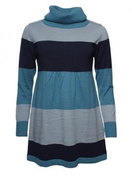 Pullover Svarna von Sorgenfri Sylt in Stripe Petrol
