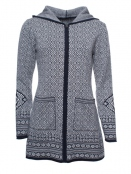Strickjacke Cady von Sorgenfri Sylt in Moonlight