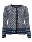 Strickjacke Magda von Sorgenfri Sylt in Moonlight