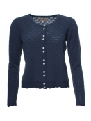 Strickjacke Vanessa von Sorgenfri Sylt in Moonlight