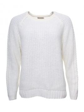 Pullover Ilvie von Sorgenfri Sylt in Ivory