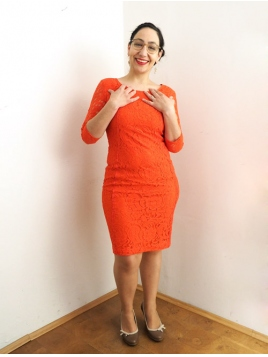 Kleid Patrice von InWear in FieryRed