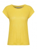 Kurzarm T-Shirt Faylinn von InWear in Yellow
