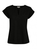 Kurzarm T-Shirt Kedita von Part-Two in Black