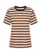 Kurzarm T-Shirt Rubi von InWear in Rust