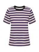Kurzarm T-Shirt Rubi von InWear in Petunia