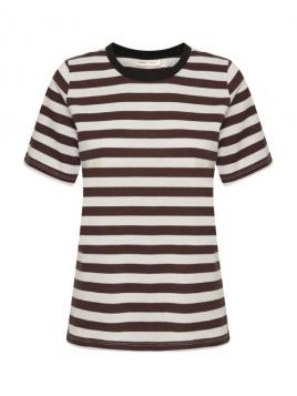 Kurzarm T-Shirt Rubi von InWear in Chocolate