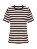 Kurzarm T-Shirt Rubi von InWear in Chocolate