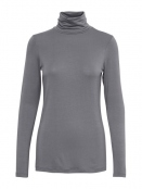 Rollkragenshirt Afinas von Part-Two in Grey