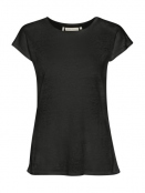 Kurzarm T-Shirt Faylinn von InWear in Black