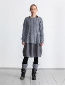 Pullover Simba von Olars Ulla in Grey