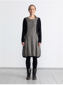Kleid Knock von Olars Ulla in BlackWhite