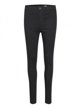 Highwaist Jeans von Saint Tropez in Black