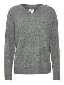Pullover von Saint Tropez in Iron