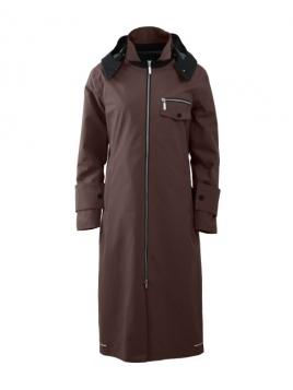 Mantel München von Blaest Rainwear in Braun