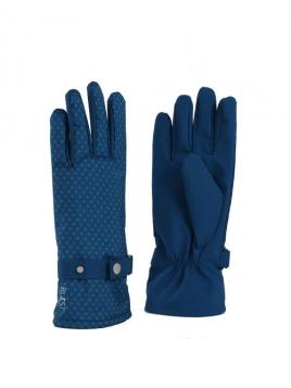 Handschuhe von Blaest Rainwear in Tintenblau