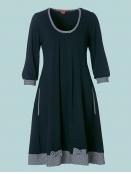 Kleid Dollys Vichy-Check von Du Milde in Blau