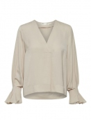 Blouse Clara von InWear in French Nougat
