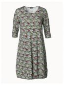 Kleid Greyish Rose von Du Milde etc. in GruenRot
