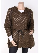 Poncho 3744-67 von Nü by Staff-Woman in Beetle