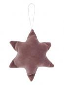 Stern Velour von Ib Laursen in Malva