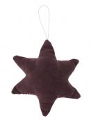 Stern Velour von Ib Laursen in Aubergine