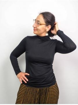 Rollkragenshirt Afinas von Part-Two in Black