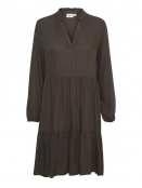 Kleid von Saint Tropez in Brown