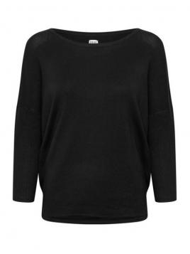 Pullover Mila von Saint Tropez in Black