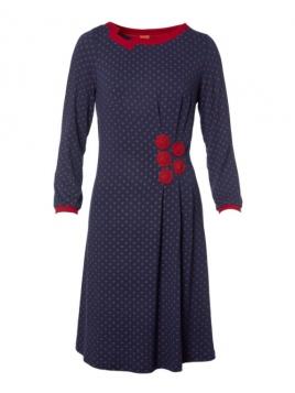 Kleid Poulas Season von Du Milde in Blau