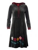 Kleid Barbaras Warm Winter von Du Milde in Grau