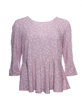 Shirt Alba von Sorgenfri Sylt in rose