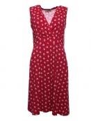 Kleid Inga von Sorgenfri Sylt in rubin