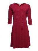 Kleid Skrolan von Sorgenfri Sylt in rubin