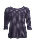 Shirt Mabel von Sorgenfri Sylt in navy