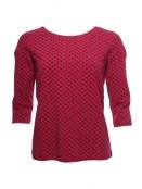 Shirt Mabel von Sorgenfri Sylt in rubin