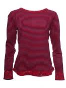 Shirt Divia von Sorgenfri Sylt in rubin