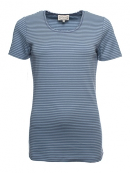 Kurzarm T-Shirt Sara von Sorgenfri Sylt in stormy