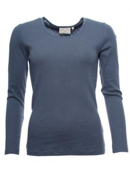 Langarm T-Shirt Malin von Sorgenfri Sylt in stormy