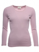 Langarm T-Shirt Malin von Sorgenfri Sylt in rose