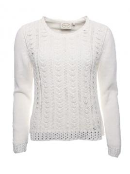Pullover Mani von Sorgenfri Sylt in ivory