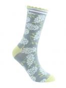Socken Irma Hortensie von Sorgenfri Sylt in Ciel