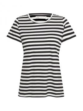 Kurzarm T-Shirt Myka von InWear in Black