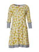 Kleid Carolines Mustard Dream von Du Milde in Gelb