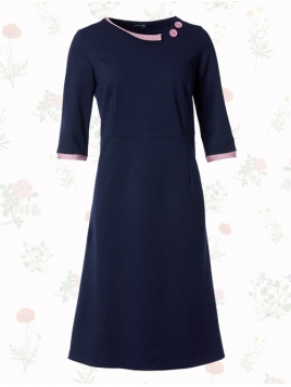 Kleid Poppy Blue Hope von Du Milde etc. in Blue
