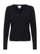 Strickjacke Mila von Saint Tropez in Black