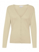 Strickjacke Mila von Saint Tropez in Creme
